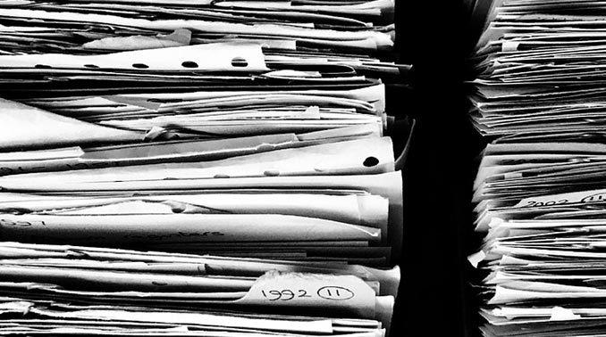 Artikelbild Zettelwirtschaft