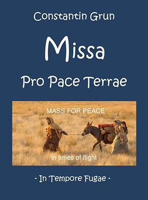 Cover der Messe Pro Pace Terrae
