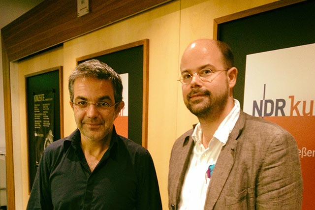 Navid Kermani und Paul Bernhard