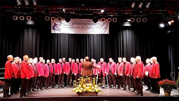 Meisterchorsingen 2016 Männerchor Plaidt