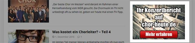 Ad Sidebar chor-heute.de