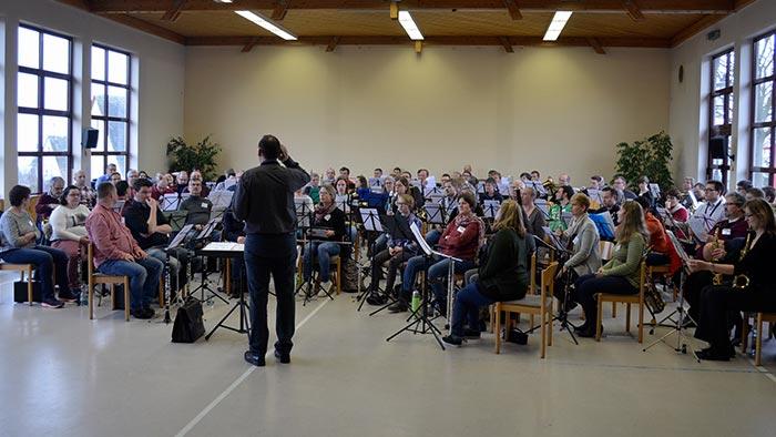 Franziskusmesse Orchesterprobe
