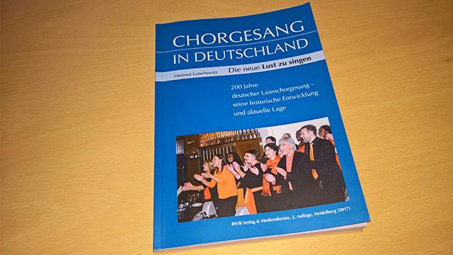 Buch Hartmut Lutschewitz: Chorgesang in Deutschland