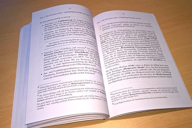 Blick ins Buch: Chorgesang in Deutschland