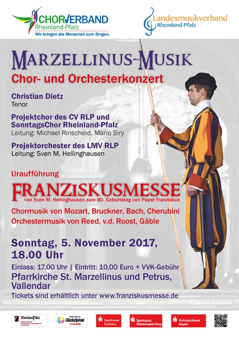 Plakat Franziskusmesse