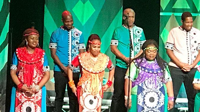Soweto Gospel Choir auf Bühne