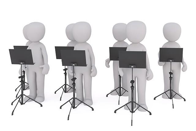 Chor Notenständer