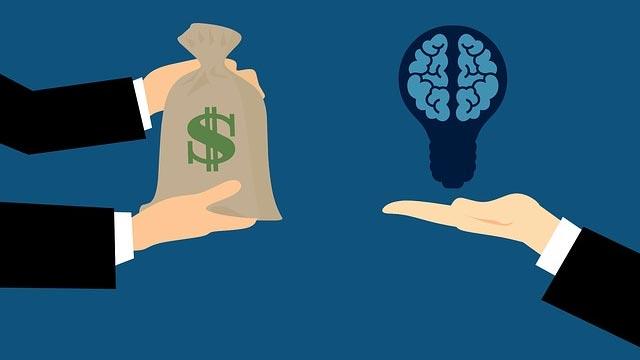 Geld gegen Hirn