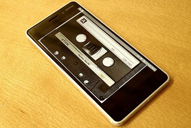 Kassette im Smartphone