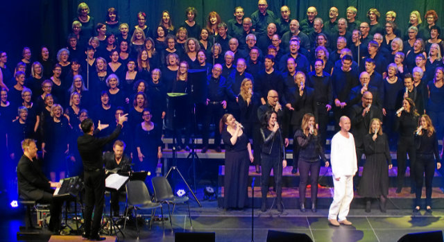 Oslo Gospel Choir Winterthur Konzert