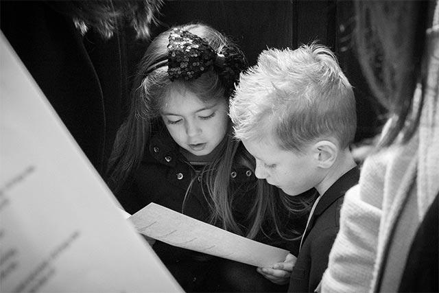 Kinder im Kinderchor