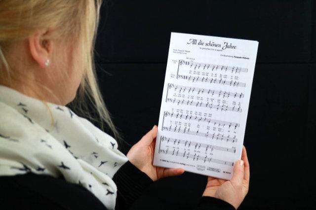 Chornoten in der Hand
