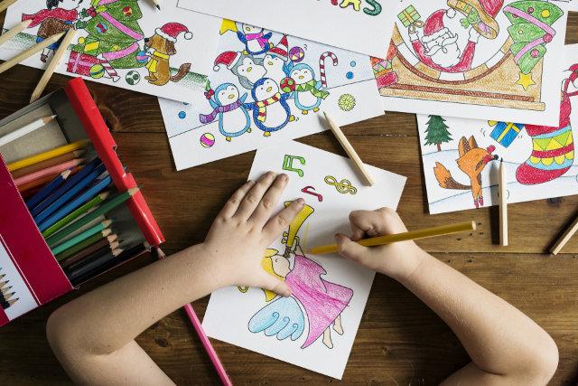 Kind Malen Grundschule